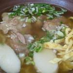 東江そば - 料理写真:軟骨ソーキそば