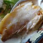 ぎょらん亭 - 「どろラーメン(大盛)」バラ肉チャーシュー