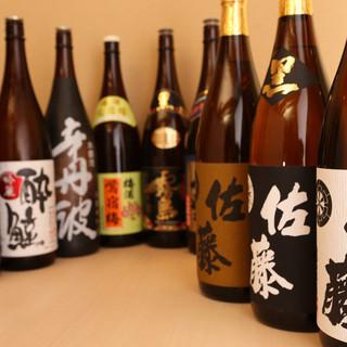 日本酒や焼酎等ございます。