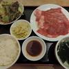 焼肉 山水 - 料理写真:ランチのコンビ定食