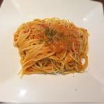Ruhe-f - 蟹のトマトクリームソース