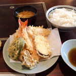 天ぷら きよし - 天ぷら定食