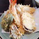 天ぷら きよし - 白くて関西風の天ぷら