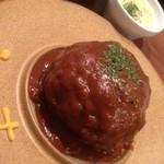 六本木 肉とワイン Uchibito - 2015/7ランチハンバーグ300g