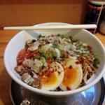 中華そば de 小松 - 汁なし担々麺(限定麺)※終了