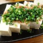 39819581 - 島豆腐の冷奴