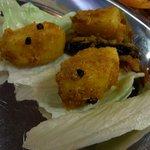 サムジャナ - ネパールアチャール(ネパールの漬物)です。ジャガイモベースのアチャールでした。