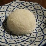 39821042 - タイ米のご飯(カレーに含む)。