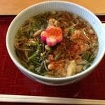 鶴喜そば - 料理写真:比叡山そば