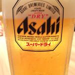 さかな市場 - 2015/6/☆  生ビールで乾杯〜〜