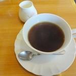 コーヒー & ランチ ポージィ - ピラフセットのコーヒー