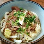 菜の家 - 冷たい肉ぶっかけ(並)