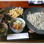 そば座敷 平吉 - 料理写真:そば膳 そばエッセンシャルコースで1,200円