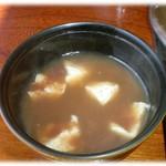 そば座敷 平吉 - そばしる粉、初めて味わいます