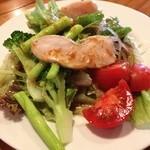 BAL COURNO - その時々の旬なお野菜のサラダです