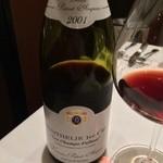 ヴァン・ド・レーヴ - おまかせグラスワイン2:ピノノワール '01
