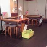 たぬきや - テーブル席(2015年7月8日撮影)
