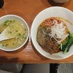 担々麺 ほおずき - 汁なし担々麺中盛り大辛