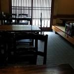 おくむら - 昼の店内 2015.7