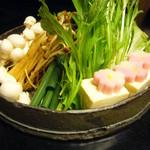 魚菜家 旬蔵 - しゃぶしゃぶ(野菜)