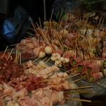 串焼き あだん - 巻き串も焼鳥も種類豊富