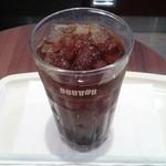 """ドトールコーヒーショップ - 2015年6月発売の期間限定アイスコーヒー""""イルガチェフェG1コチョレ""""です。(2015年6月)"""