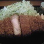 かつ乃家 - ロースカツ定食¥850