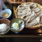 そば処 千成 - おろしざる蕎麦¥920