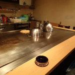 かんちゃんお好み鉄板焼 - 電気式鉄板(15kW)