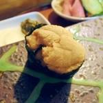 宝来寿司 - うに。