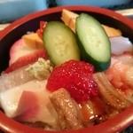 菊寿司 - 料理写真:ランチ海鮮丼