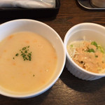サウザンステーキ - サラダ&スープ