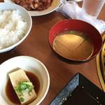 焼肉やまと - 定食(シングル)¥550