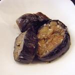 カフェ ジータ - ランチの小鉢なすの味噌煮込み