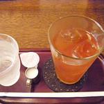 カフェ ジータ - ランチのセット/アイスティー
