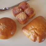 セカンドキッチン - 料理写真:あんぱん、バタークーヘン、クリームパン