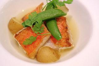 レストラン フィーネ - 金目鯛のグリエ