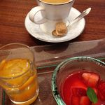 Italian CORAL - デザート・コーヒー 2014.04.03