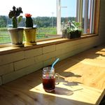 Kafekamara - 風景とアイスコーヒー(486円)