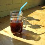 カフェ カラマ - アイスコーヒーのアップ