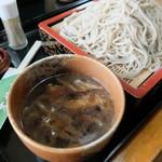 木挽庵 - 鴨汁大盛り(山椒)