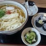 優 - イカ天巻きセット(麺大盛)