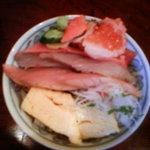 よし祥 - 三色丼(鰆)