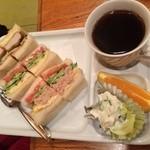 ビクトリー - 三色サンドセット820円(税込)