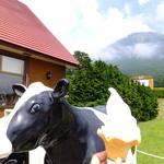 大山まきば みるくの里 - 大山牛乳ソフトクリーム:350円