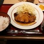 39851902 - トンテキ定食@980円【2015-7】