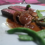エサンス - 料理写真:イチボのステーキ