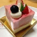 pinon - 苺とホワイトチョコ