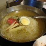 焼肉しらいし - 2015 Jun 冷麺