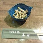 勇吉 - 2015/6 そばかりんとう、美味しい! レジでお土産用にも売ってます